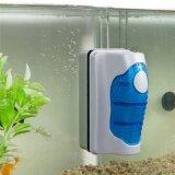 ขาย ซื้อ New L Size Magnetic Brush Aquarium Fish Tank Glass Algae Scraper Cleaner Floating Curve Aquarium Accessory Intl ใน จีน