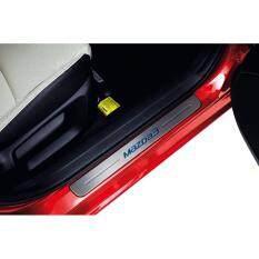 ซื้อ ชุดคิ้วสคัฟเพลทขอบประตู New Mazda 3 2017 Skyactiv ของแท้ Mazda เป็นต้นฉบับ