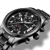 ซื้อ New Men Top Famous Brand Kinyued Stainless Steel Watches Fashion Casual Quartz Men S Wristwatches Item Specification Intl ออนไลน์