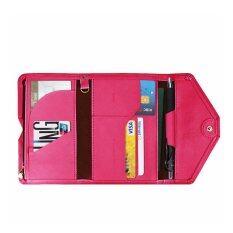 โปรโมชั่น Savfy กระเป๋าหนัง Pu ใส่พาสปอร์ต บัตรเครดิต Savfy