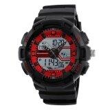 โปรโมชั่น New Skmei 1189 Multifunctional Fashion Sports Water Resistant Shockproof Electronic Watch Intl ถูก