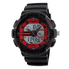ขาย ซื้อ New Skmei 1189 Multifunctional Fashion Sports Water Resistant Shockproof Electronic Watch Intl
