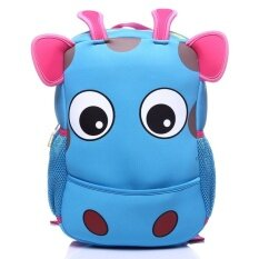 New Waterproof Bag Children Diving Material Cartoon Animals Super Light Burden Shoulders Children Schoolbag Korean Style Sch**L Bag Intl จีน