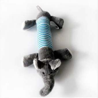 new Y97C Dog Toy Pet cat Dog Puppy Plush Sound Chew Squeaker Squeaky Pig Elephant Duck