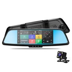 ขาย Niceeshop Car Mirror Dvr Gps Navigation 1080P Dash Cam For Cars With 3G And Wifi Dual Lens Car Video Recorder With Night Vision G Sensor Loop Recording Bluetooth Hands Free Intl Niceeshop ผู้ค้าส่ง