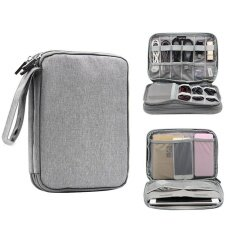 ราคา Niceeshopelectronics Accessories Storage Bag Portable Universal Data Cables Organizer Digital Device Holder 4 เป็นต้นฉบับ Niceeshop