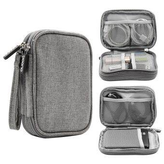 niceEshopElectronics Accessories Storage Bag Portable Universal Data Cables Organizer / Digital Device Holder#1