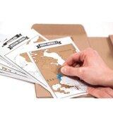 ขาย Niceeshop Scratch World Travel Track Map Diary Intl ออนไลน์ จีน