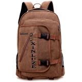 ราคา Nifty Well กระเป๋าเป้สะพายหลัง Backpack กระเป๋าเดินทาง ขนาดกลาง ผ้าแคนวาส สีน้ำตาล เป็นต้นฉบับ