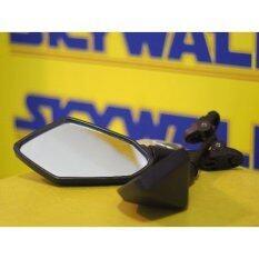 ซื้อ กระจกมองข้าง ลายเคลฟล่า คาร์บอน สามารถพับได้ และ มีน็อตให้มา ก้านและขาจับเป็นอลูมิเนียมอัลลอยด์ Ninja 250 1000 Cbr 150 1000 R1 ใหม่