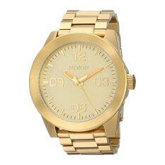ขาย นาฬิกานิกสัน Corporal Ss ทองสแตนเลสสตีลกรณีสร้อยข้อมือสแตนเลสบุรุษ A346502