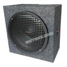 ทบทวน ตู้ลำโพง12นิ้ว1200วัตต์ กำมะหยี่ ซับวูฟเฟอร์ Single 12 Sealed Car Audio Subwoofer Sub Box Enclosures Nke Audio