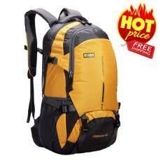 ราคา Nl04Ye สีเหลือง กระเป๋าเดินทาง กระเป๋าสะพายหลัง กระเป๋าเป้เดินทาง กระเป๋าเป้ผู้ชาย กระเป๋าเป้เท่ๆ กระเป๋าสัมภาระ กระเป๋าไนลอนกันน้ำ Backpack ออนไลน์