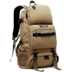 ส่วนลด Nl21Kk สีกากี กระเป๋าเดินทาง กระเป๋าสะพายหลัง กระเป๋าเป้เดินทาง กระเป๋าเป้ผู้ชาย กระเป๋าเป้เท่ๆ กระเป๋าสัมภาระ กระเป๋าไนลอนกันน้ำ Backpack New ใน กรุงเทพมหานคร