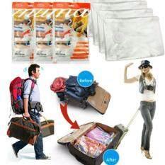 ซื้อ Noikatoo ชุดถุงสุญญากาศ 3 ใบ กระบอกสูบลม ใส่เสื้อผ้าเดินทาง ประหยัดพื้นที่กระเป๋าเดินทางหรือใส่ในตู้เสื้อผ้า ขนาด 80X110 Cm Xl Noikatoo เป็นต้นฉบับ