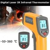 ซื้อ Non Contact Digital Laser Ir Infrared Thermometer Temperature Tool 50° To 360° Intl ออนไลน์ ถูก