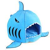 ซื้อ ฉลามหนูรูปทรงแปลกๆสัตว์เลี้ยงนอนอยู่บ้านหมาขนาดเอส สีน้ำเงิน ออนไลน์ จีน