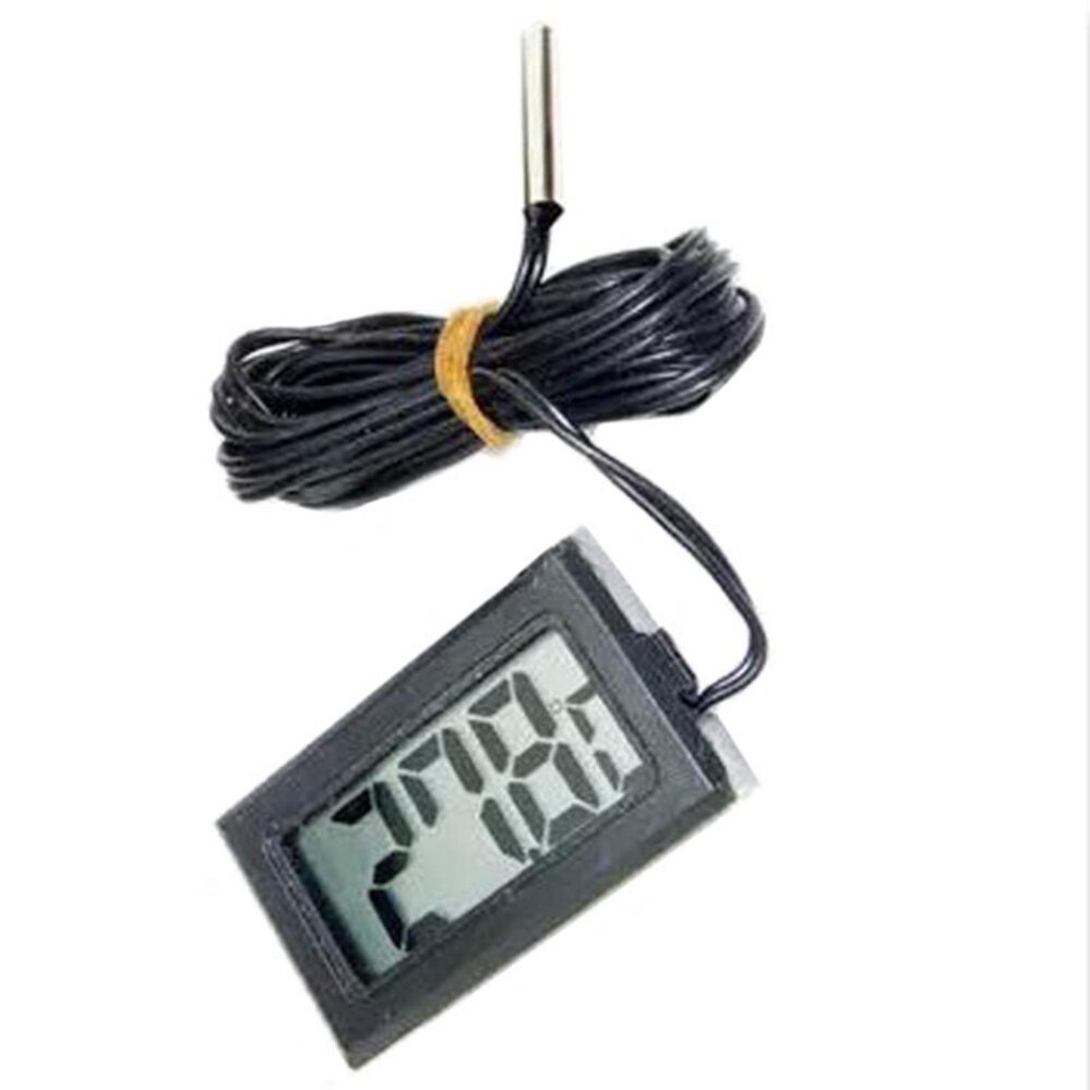 Ntc Sensor T110 Digital Display Thermometer Temperature Meter With Waterproof Probe - Intl By Shenzhen Factory.