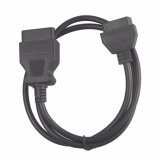 ซื้อ Obd2 Obdii 16Pin Male To Female Extension Cable Obd Ii Diagnostic Extender 150Cm 5Ft 16Pin Obd2 Cable Intl