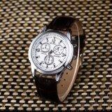 ราคา Ocean New Fashion Men Watches Blu Ray Glass Classic Quartz High Grade Belt Watch Brown And White Intl Unbranded Generic จีน