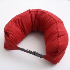 ซื้อ Ocean New Muji Inspired Well Fitted Microbead Travel Neck Pillow Cushion Intl Unbranded Generic ออนไลน์
