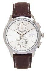 ส่วนลด Officina Dell Attimo นาฬิกาข้อมือผู้ชาย สายหนัง รุ่น 20000483001 Brown