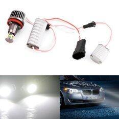 โปรโมชั่น Oh 40W H8 White Hid Xenon 6000K Angel Eyes Led Light For Bmw E90 E92 E93 X5