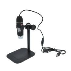 ซื้อ โอ 50 X ไป 500 X Led ส่องผ่านแว่นขยายกล้องดิจิตอลอิเล็กทรอนิกส์ สีดำ ใหม่
