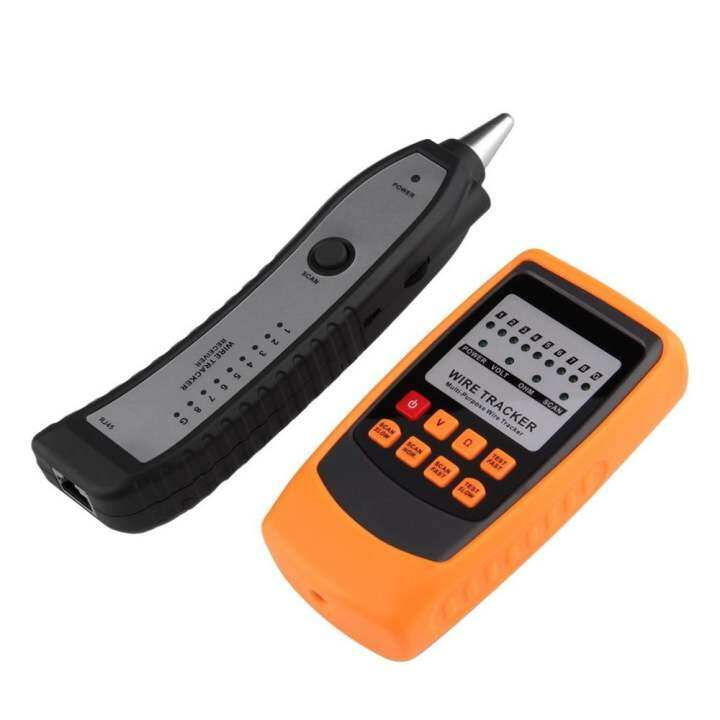 OH Cable Tester Tracker Phone Line Network Finder RJ11 RJ45 Wire Tracer