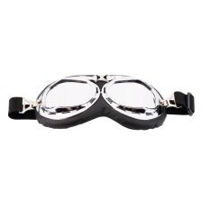 โอ้ร้อนแอนตี้ยูวีตู้รถจักรยานยนต์สคูเตอร์แว่นตาแว่นตาหมวกนักบินมอเตอร์ครอสเงิน เป็นต้นฉบับ