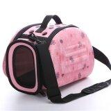 ส่วนลด Oh Lovely Floral Soft Eva Portable Pet Bag Breathable Outdoor Carrier Pet Bag Pink S Intl จีน