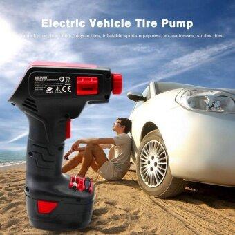 OH แบบพกพา EU Plug มือถือไฟฟ้าจักรยานยางรถยนต์ไร้สายปั๊ม