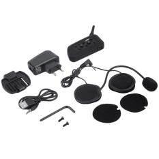 ขาย Oh V6 1200M Bluetooth Intercom For Motorcycle Helmet Headset Interphone Black Eu Plug Unbranded Generic เป็นต้นฉบับ