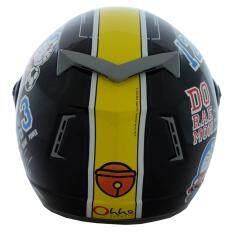 ราคา หมวกกันน็อคลิขสิทธิ์ โดราเอม่อน รุ่น Racer02 สีดำ ออนไลน์ ไทย