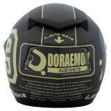 โปรโมชั่น หมวกกันน็อคลิขสิทธิ์ โดราเอม่อน รุ่น Racer03 สีเทาเข้ม ด้าน ไทย
