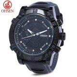 ขาย Ohsen Ad1609 ผู้ชายแบบสปอร์ต 3Atm นาฬิกาจับเวลานาฬิกาปลุกวันที่นาฬิกาดิจิตอลนาฬิกาข้อมือ Tc