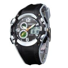 Ohsen Sport Watch Children Boys Waterproof Digital Display Watches Black Intl เป็นต้นฉบับ