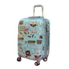 ราคา Onebagshop กระเป๋าเดินทางแฟชั่น รุ่นN005 Size 24 นิ้ว Blue ถูก