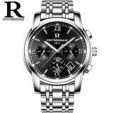 ราคา Ontheedge Rzy026 Mens Watches Luxury Brand Fashion Business Quartz Watch Men Sport Stainless Steel Waterproof Wristwatch Intl