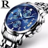 ราคา Ontheedge Rzy028 Business Men Chronograph Watch Quartz Watch Waterproof Clock Date Wrist Men S Watch Intl ใหม่ล่าสุด