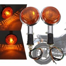 Orange Yamaha Virago Xv1100 1985 1999 Turn Indicator Signal Light Blinker Lens Intl เป็นต้นฉบับ