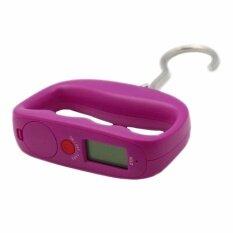 โปรโมชั่น Orbia เครื่องชั่งกระเป๋า Lcd Portable Digital Luggage Scale Purple กรุงเทพมหานคร