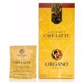 ราคา Organo Gold Gourmet Latte Coffee กาแฟอราบริก้า เร่งการใช้พลังงาน คาแฟอีนต่ำ Thailand