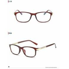 ซื้อ Orginal Polarized Men Women Eyeglasses 3633W Tea Frame Intl ถูก จีน