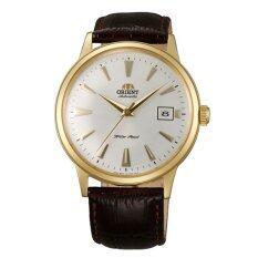 ราคา Orient Automatic Classic นาฬิกาข้อมือผู้ชาย สีน้ำตาล สายหนัง รุ่น Fer24003W ออนไลน์ ขอนแก่น