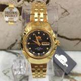 ความคิดเห็น Orient Automatic นาฬิกาข้อมือผู้หญิงเรือนทอง รุ่น Fnq22001B9 สีทอง สีดำ