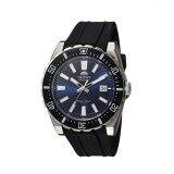 โปรโมชั่น Orient Men S Black Silicone Watch Fac09004D0 Intl ถูก