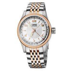Oris นาฬิกาผู้ชาย สายสแตนเลส รุ่น 754 7679 4381 Mb Silver เป็นต้นฉบับ