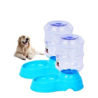 ราคา Oscar Store High Quality Products Automatic Pet Cat Puppy Drinking Fountain Water Dispenser Plastic Bowl Intl ราคาถูกที่สุด
