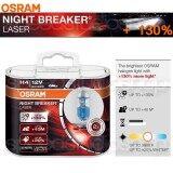 ขาย Osram หลอดไฟ หลอดไฟหน้า รถยนต์ มอเตอร์ไซค์ บิ๊กไบค์ H4 รุ่น Night Breaker Laser เพิ่มความสว่าง 130 ออนไลน์ ไทย